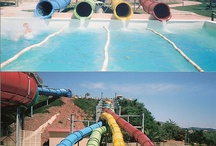 Water parks, slides and play parks