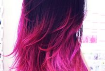 Μαλλιά Dip Dye