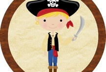 Pirate Party Inspiration - Danny / by Luna and Willow