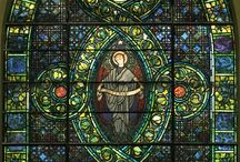 Historic stained glass