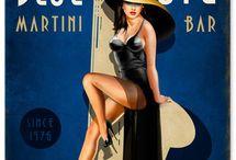 Vintage Blues Jazz Posters