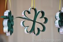St. Patrick's Day Fun / Green crafts and goodies for St. Patrick's Day!