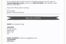 Emails catalogue