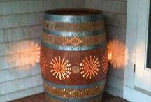 repurposed :: wine barrel