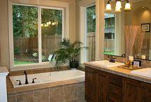 bathroom remodels / by Monica