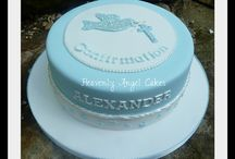 Boys Communion and Confirmation cakes