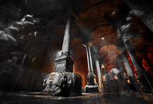 Basilica Cistern / Located across the Hagia Sophia Museum, Yerebatan Sarayi is also known as the Basilica Cistern because of a basilica that was once located nearby as a cultural centre.