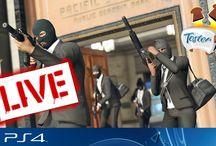 Live z GTA Online / Tablica z zapisami transmisji online z GTA Online