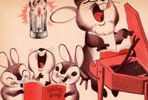HOWELL HESS: Lovely endearing old illustrator: Love it !