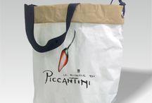 bedruckte Papiertaschen / exklusive Papiertaschen, Zementsacktaschen, Kraftpapiertaschen