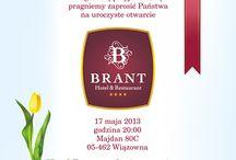 HOTEL BRANDT - Zaproszenie