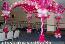 Balon Süslemesi / Her türlü organizasyon ve etkinlik için balon süslemesi hizmetimizi sizlere sunuyoruz! Hemen arayın!