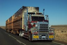 Australian Road Trains: Trucking Down Under / Australian Road trains: the big semis that rule the roads of the Outback. / by Smart Trucking