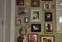 Family pic wall