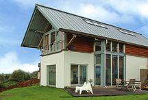 As scene on Grand Designs... / As scene on Grand Designs a contemporary cruck oak-framed house