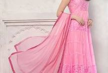 Pink PartyWear Collection! / Best collection of Pink shade ethnic wear !  Order now - http://bit.ly/1TRW412