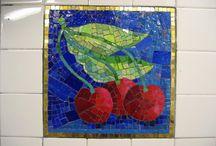 el arte del mosaico / by Gloria Rendón
