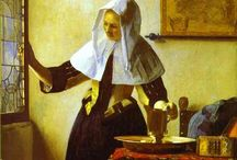 Johannes Vermeer / (1632 – December 1675) was a Dutch painter who specialized in domestic interior scenes of middle-class life. Vermeer was a moderately successful provincial genre painter in his lifetime.