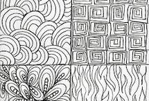 Zentangles Patterns