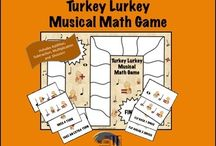 Thanksgiving Music Activities / Thanksgiving music activities to use in your classroom.