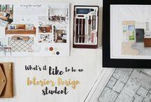 Interior Design Student's Life