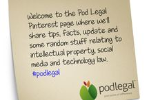Welcome / Thanks for stopping by to Pod Legal's Pinterest page.  Start here for a little about us.
