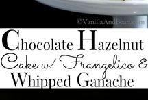 Recipes using chocolates