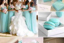 Tiffany & White Wedding Looks