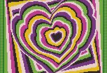 srdce - polštář