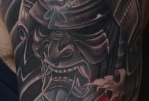 japanese demon tattoo