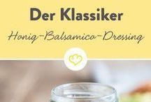 dressings und salate