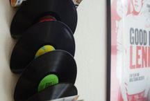 Avec des vieux disques