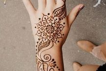 Tattoos and henna