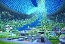 Cenário ficção científica
