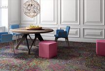 Multibarevné podlahy / Multicolored floors