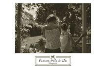 Noir et blanc / De belles photos Fleurs Pois & Cie en noir et blanc.