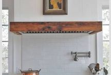 Country Rustic Rangehood Styles