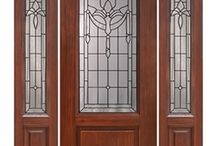 Fiberglass Doors / If you like the look of wood, but need something a little more durable, our Fiberglass Doors will do the trick. You get all the aesthetics of our wood doors, but can depend on fiberglass to withstand the elements better and for longer.
