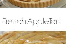 French apple tart Beautiful