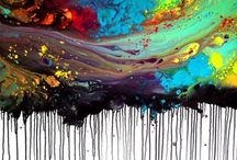 Crayon art / Awesome