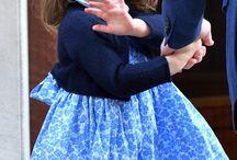 charlotte, george, louise fashion