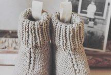 strikking og oppskrifter
