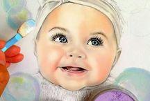 Art - Portraits - Babies