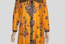 Baju Batik Tunik Kuning [1161]