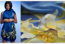 My art / about painting on silk