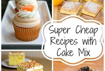 The Best Recipes with Cake Mix / One box of cake mix can go a long way! From cake mix cookies to cake mix cakes, dessert bar recipes to easy fudge recipes and everything in between, these recipes with cake mix are sure to be a hit with everyone! / by The Best Dessert Recipes