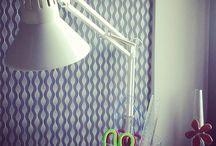 Mój pokój szyciowy/ pracownia krawiecka /sewing room