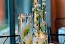 Daughters wedding ideas / Wedding centerpieces