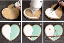 how to decorate cookies.
