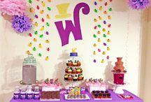 PARTY THEME: Willy Wonka